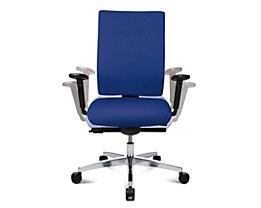 Topstar SITNESS 70 Schreibtischstuhl - inklusive Armlehnen - blau