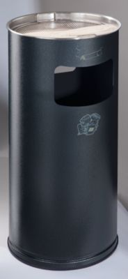 Kombiascher - rund, Stahlblech, Höhe 700 mm, Ø 320 mm