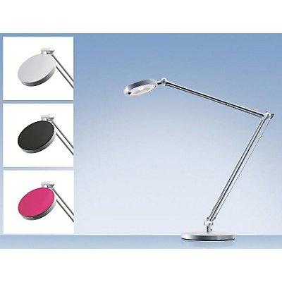 LED-Schreibtischlampe 4YOU - 4,8 Watt - schwarz, silber, himbeere