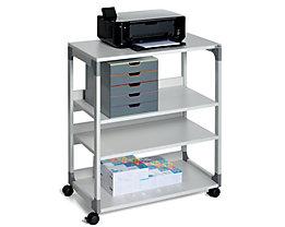 Table pour imprimante et de rangement passe-partout de Durable - 4 tablettes
