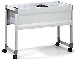 Hängemappenwagen von Durable - für 100 Mappen, 1 Etage