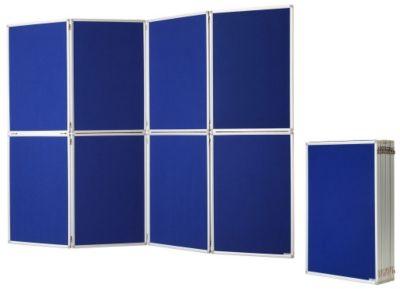magnetoplan® Präsentationswand, zusammenklappbar - inkl. Tragetasche - HxBxT 1810 x 2440 x 20 mm