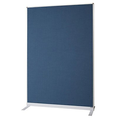 magnetoplan® Raumteiler - mit Textilbezug - HxBxT 1800 x 1250 x 500 mm