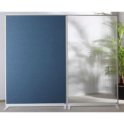 magnetoplan® Raumteiler - Acryl - HxBxT 1800 x 1000 x 350 mm