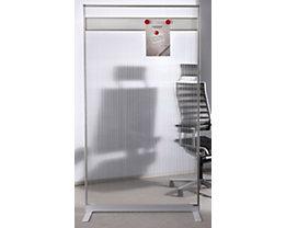 magnetoplan® Cloison modulaire - revêtement acrylique et baguettes magnétiques