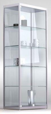 INSIDE Standvitrine vollverglast - rechteckig, 4 Böden