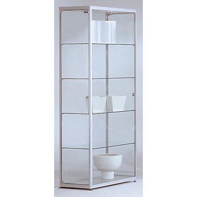 BST INSIDE Standvitrine vollverglast - rechteckig, 4 Böden
