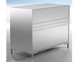 Comptoir modulaire LINK - fermé, largeur 1200 mm