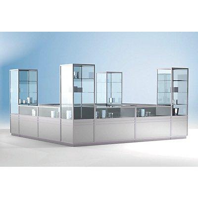 LINK Thekenmodul - geschlossen, Breite 500 mm - HxT 900 x 600 mm