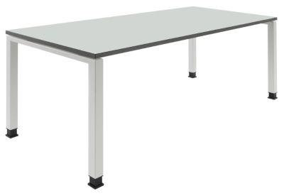 Schreibtisch ARCOS - BxT 1800 x 800 mm - Platte reinweiß