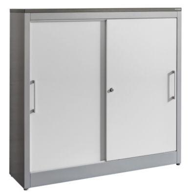 Schiebetürenschrank ARCOS - 2 Fachböden, HxBxT 1240 x 1200 x 420 mm