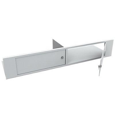 Innentresor - für Dokumentenschrank, Höhe 415 mm - mit Zylinderschloss, Mehrpreis