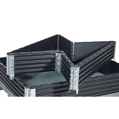 Kunststoffaufsatzrahmen, VE 2 Stk - für Industriepalette 1200 x 1000 mm