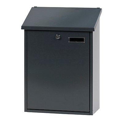 Großraum-Briefkasten - Stahlblech, pulverbeschichtet