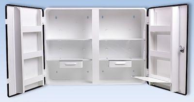 Armoire à pharmacie conforme à la norme DIN 13169 - à 2 portes, blanc,... par LeGuide.com Publicité