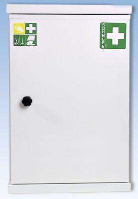 Verbandschrank nach DIN 13169 - eintürig, weiß, HxBxT 560 x 360 x 200 mm