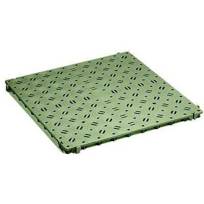 CLIPPY Kunststoff-Bodenrost, Polyethylen - 500 x 500 mm, stabil, VE 20 Stk
