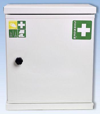 Verbandschrank nach DIN 13157 - eintürig, weiß, HxBxT 420 x 360 x 200 mm
