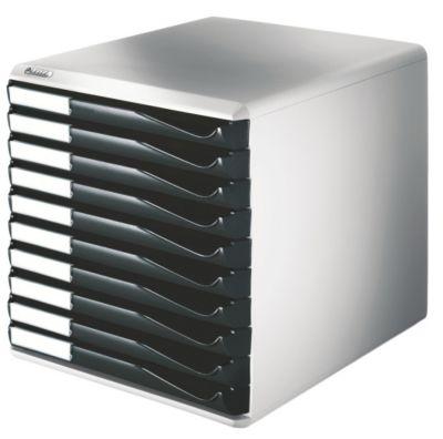 Leitz Ablagebox - Post- und Formular-Set, Gehäusefarbe grau