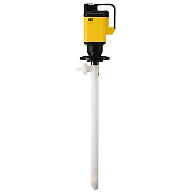 Lutz Pompe vide-cuves électrique - pour acides et bases concentrés - appareil de base
