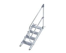 Industrie-Treppe - Alustufen, Stufenbreite 600 mm