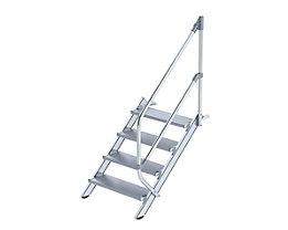 Industrie-Treppe - Alustufen, Stufenbreite 800 mm