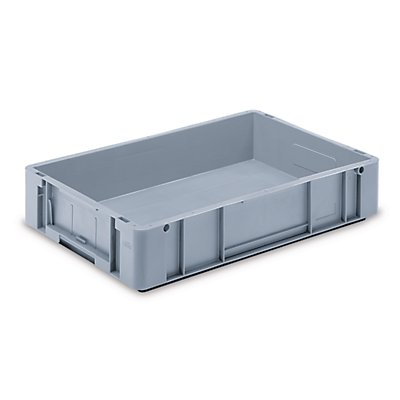 utz Euronorm-Stapelbehälter - Außen-LxBxH 600 x 400 x 120 mm