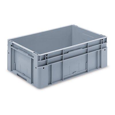 utz Euronorm-Stapelbehälter - Außen-LxBxH 600 x 400 x 220 mm