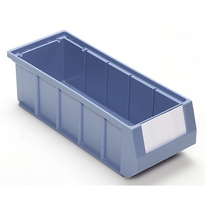 Mauser Bac de stockage - en polypropylène haute qualité bleu