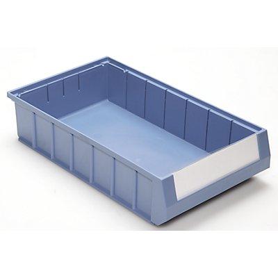 Mauser Regalkasten - aus hochwertigem Polypropylen, blau
