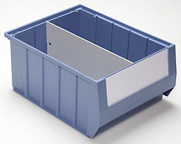 Séparateur - séparation longitudinale - pour L x h 300 x 140 mm, lot de 10