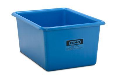 Großbehälter aus GfK - Inhalt 550 l, LxBxH 1320 x 970 x 620 mm