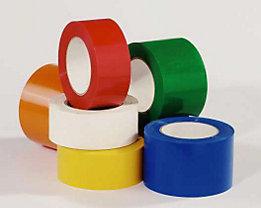 Bodenmarkierungsband aus Vinyl, einfarbig - Breite 50 mm - weiß, VE 16 Rollen