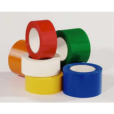 MORAVIA Bodenmarkierungsband aus Vinyl, einfarbig - Breite 75 mm