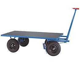 EUROKRAFT Chariot à avant-train pivotant - force 500 kg