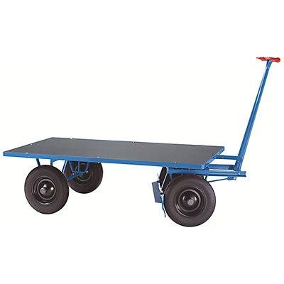EUROKRAFT Handpritschenwagen - Tragfähigkeit 500 kg