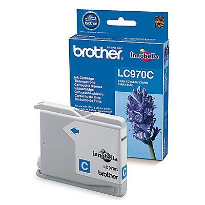 Brother Tintenpatrone LC970C 300Seiten cyan
