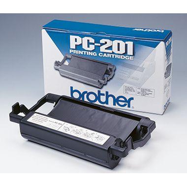 Brother Thermotransferrolle PC201 420Seiten schwarz