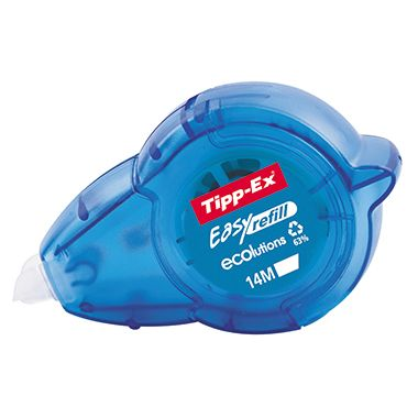 Tipp-Ex Korrekturroller Easy Refill 751450 5mmx14m Mehrweg weiß