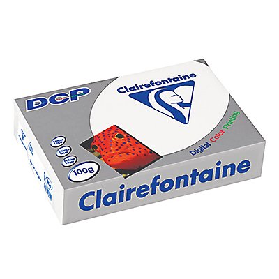 Clairefontaine Farblaserpapier DCP  DIN  100g ws 500 Bl./Pack.