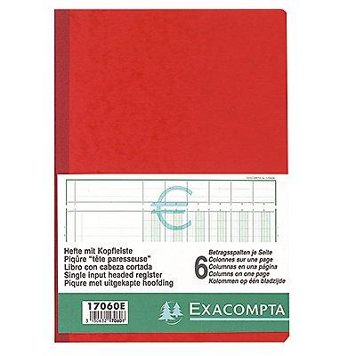 Exacompta Spaltenbuch 17040E DIN A4 4Spalten/1Seite 40Blatt