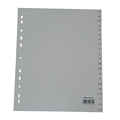 Soennecken Register  DIN A4 A-Z volle Höhe Überbreite PP