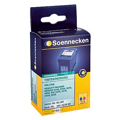 Soennecken Tintenpatrone 81120 Gr.995 wie HP C6657AE c/m/y