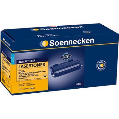 Soennecken Toner 84012 Gr.1146 wie Brother TN6600 schwarz