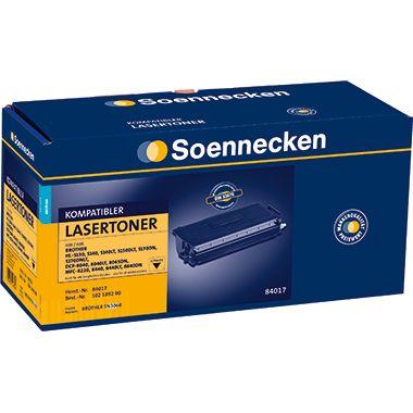 Soennecken Toner 84017 Gr.1157 wie Brother TN3060 schwarz