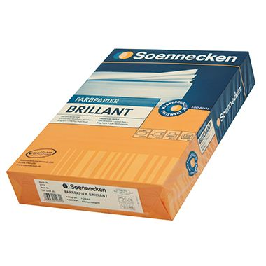 Soennecken Kopierpapier Brillant 5780 DIN A4 int.rot 500 Bl./Pack
