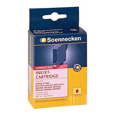 Soennecken Tintenpatrone 82163 Gr.1603C wie Epson C13T061340 mg