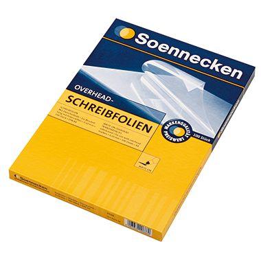 Soennecken OHP-Schreibfolie 5510 DIN A4 0,10mm 100 St./Pack.
