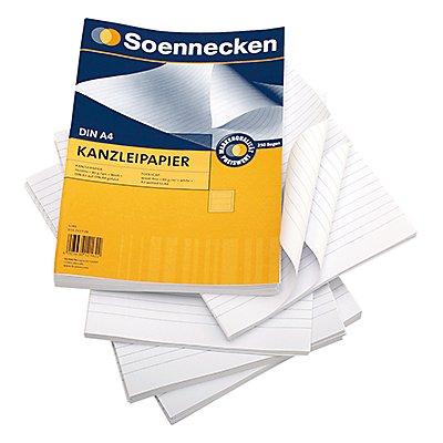 Soennecken Kanzleipapier  DIN A3/A4  250 Bl./Pack.