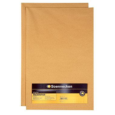 Soennecken Packpapier 3560 75x100cm 75g Recyclingpapier 2 Bg./Pack.
